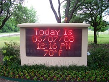 OUTDOOR ELECTRONIC SIGNS